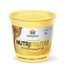 FERTILIZANTE MINERAL MISTO - NUTRIFRUTAS PREMIUM - 500 GR