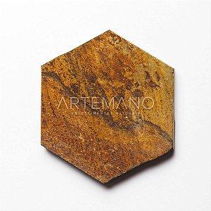 PEDRA FERRO HEXAGON M² | 10x10 | 15x15 | 20x20