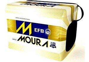 Bateria Moura Start Stop EFB 72Ah – 12V – MF72LD