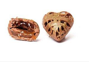 10 Bombons Coração Ouro