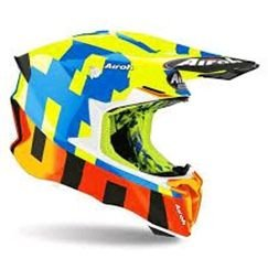 AIROH - CAPACETE TWIST 2.0 FRAME YELLOW GLOSS M