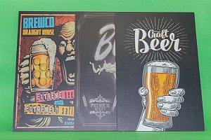 Kit Quadros de Cerveja
