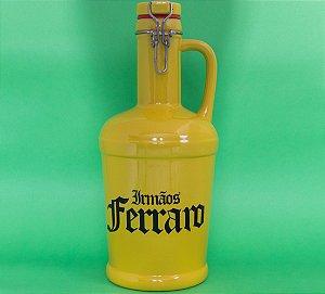 Growler Cerâmica Amarelo -  02 litros