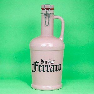 Growler Cerâmica Rosa -  02 litros