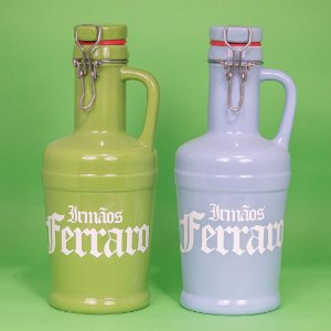 Growlers Cerâmica Azul Bebê 01 litro (unidade)
