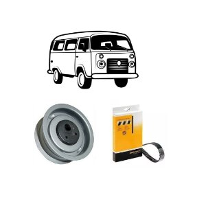 Kit Correia Dentada Vw Kombi Saveiro 1.6 8v Diesel