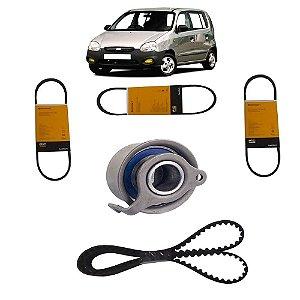 Kit Correias e Tensor Hyundai Atos Prime 1.0 12v 98 99 00 01