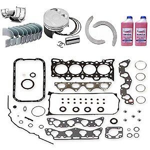 Kit Retifica Motor 206 1.4 8v 04 05 06 07 08 09 2010 Flex