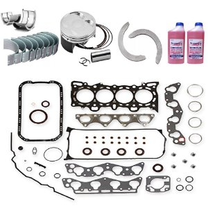 Kit Retifica Motor Citroen C3 1.6 16v 2003 A 2010 Flex