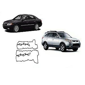 Junta Tampa Valvula Hyundai Azera 3.3 V6 Vera Cruz 3.8 Par
