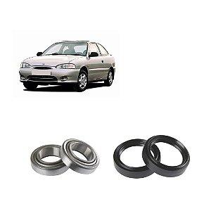 Kit Rolamento Roda Dianteiro Hyundai Accent 1.5 12v 94 A 98