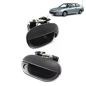 Maçaneta Externa Dianteira Hyundai Accent 1.5 94 95 A 98 Par