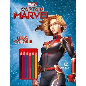 Capitã Marvel Ler E Colorir Blister - Naihobi S. Rodrigues