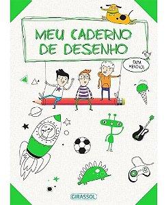 Livro - Meu Caderno de Desenhos: Para Meninos
