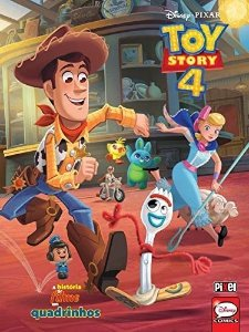 Livro - ToyStory4 - Disney