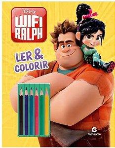 Detona Ralph Ler e Colorir Com Lápis