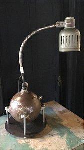 Abajur extintor de turbinas