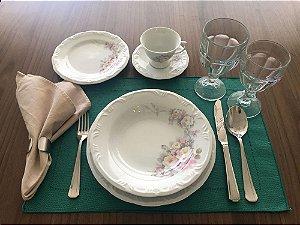 Aparelho de Jantar e Chá 30 peças - Eterna - Porcelana Schmidt