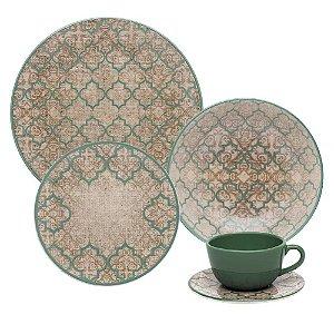 Aparelho de Jantar e Chá 30 peças - Unni Linen - Oxford Porcelanas