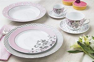 Aparelho de Jantar 30 peças - Paris - Germer Porcelanas