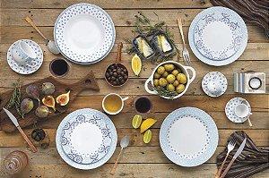 Aparelho de Jantar e Chá 30 peças - Lisboa - Germer Porcelanas