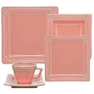Aparelho de Jantar e Chá 30 peças - Provence Vintage - Oxford Porcelanas
