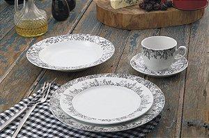Aparelho de Jantar e Chá 30 peças - Berlim - Germer Porcelanas