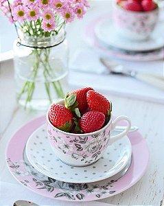 Aparelho de Jantar e Chá 30 peças - Paris - Germer Porcelanas