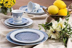 Aparelho de Jantar e Chá 20 peças - Arabesco - Germer Porcelanas