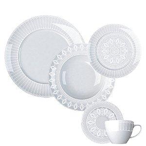 Aparelho de Jantar e Chá 30 peças - Palace - Germer Porcelanas
