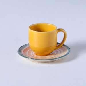 Conjunto c/ 6 Xícaras de Café c/ Pires Siracusa - Porto Brasil
