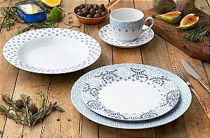 Aparelho de Jantar e Chá 20 peças - Lisboa - Germer Porcelanas