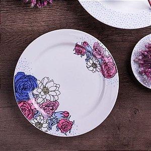 Aparelho de Jantar e Chá 30 peças - Frida - Germer Porcelanas