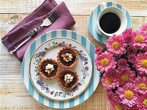Aparelho de Jantar e Chá 30 peças - Floral Chic - Germer Porcelanas