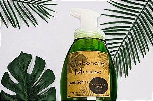 Sabonete Mousse  Espumador com Glicerina Vegetal Amazônia
