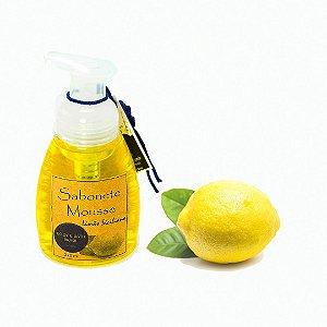 Sabonete Mousse  Espumador com Glicerina Vegetal Limão Siciliano