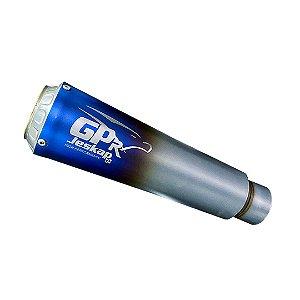 TRIUMPH SPEED TRIPLE 1050 2012/2015 GP-R INOX BLUE