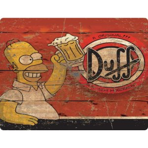 Quadro Decorativo Simpsons Duff Stalo