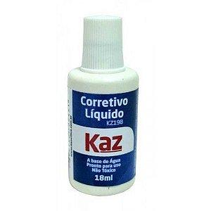 Corretivo Liquido Escolar 18ml Kaz