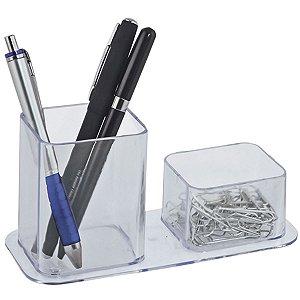 Acessório Para Mesa Dellocolor Porta Lápis/Clip.Cr Dello