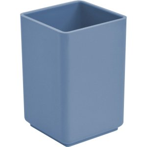 Acessório Para Mesa Porta Lápis Acrílico Azul Acrimet