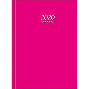 Agenda Tilibra 2021 Pepper Rosa Costurada Cd 160f Tilibra