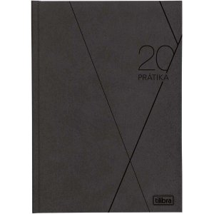 Agenda Tilibra 2021 Pratika Preta 176fls. Tilibra