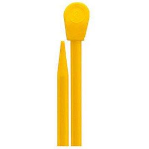 Agulha Para Tricô Milward 37cm N.6 Amarelo Coats Corrente