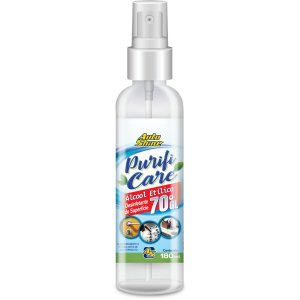 Álcool 70 Spray 70 Purificare 180ml Auto Shine