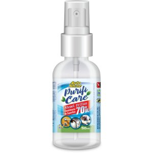 Álcool 70 Spray 70 Purificare 50ml Auto Shine
