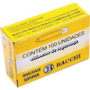 Alfinete Segurança N.2 Aço Niquelado Bacchi