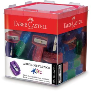 Apontador Sem Deposito Simples Glitz Faber-Castell