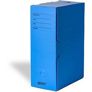 Arquivo Morto Polipropileno Comercial 360x245x133cm Azul Polycart