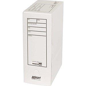 Arquivo Morto Polipropileno Prontobox 350x245x135 Branco Polycart